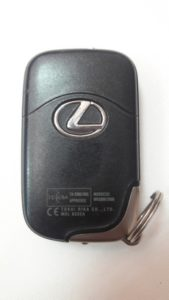 Чип-ключ Lexus LX570 до мая 2008 года зад