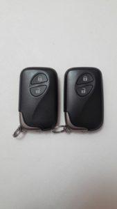 Чип-ключ Lexus RX, LS, HS гибрид перед
