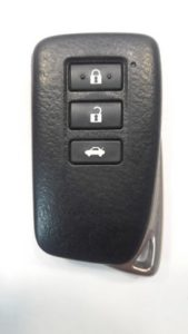 Чип-ключ Lexus ES GS перед