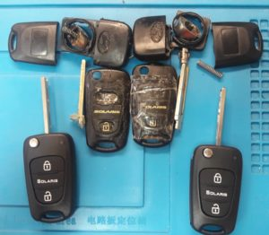 Ключ Hyundai Solaris