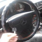 Изготовление дополнительного ключа без износа на Mercedes w140 1994 года выпуска