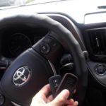 ключ в автомобиль Toyota Rav4