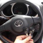 дополнительный ключ с функцией открытия/закрытия дверей для автомобиля Toyota Rush 2008