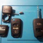 Замена корпуса на выкидном ключе Kia Bongo 2010
