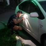 Вскрытие автомобиля Тойота Приус / Toyota Prius в 20м кузове через замочную скважину двери и без отгибания двери