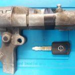 механический ключ под чип по замку зажигания на Nissan Navara