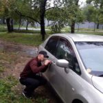 открыть Nissan Tiida Latio