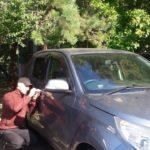 Daihatsu Be-go Toyota Rush заблокировались двери. Как открыть машину?