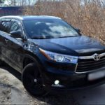 Toyota Highlander / Тойота Хайлендер 2014 года выпуска потерял единственный ключ от авто