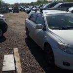 Заблокировались двери на автомобиле Toyota Fielder