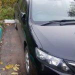 Вскрытие автомобиля Toyota Allion / Тойота Аллион 2011 года выпуска через замочную скважину двери, без повреждений и без отгибания двери