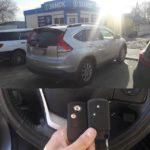 Honda CR-V дополнительный чип ключ / смарт ключ