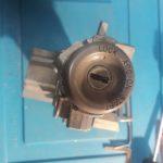 Nissan Vanette потерял единственный ключ - изготовили ключ по автозамку