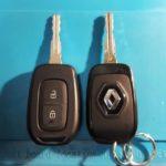 Renault Logan лезвие ключа сломалось пополам