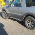 Mitsubishi Pajero заблокировались двери, а ключ остался внутри