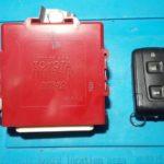 Toyota Mark X 2005 потерял единственный ключ от своего автомобиля, но остался брелок от сигнализации