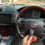 Toyota MarkX дополнительный ключ с кнопками