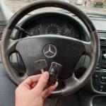Mercedes ML320 дополнительный чип ключ