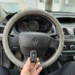 Renault Fluence потерял единственный чип ключ
