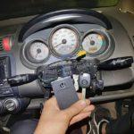 Honda Fit заклинил замок зажигания: механический ключ перестал поворачиваться