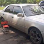 Toyota Crown заблокировались двери ключи остались внутри