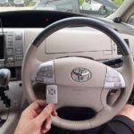Toyota Estima Hybrid открыть машину без отгибания двери и без использования проволоки