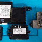 Toyota Ractis сломан блок smart key - утеряна рулевая защёлка