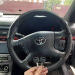 Toyota Avensis потерял единственный ключ от автомобиля