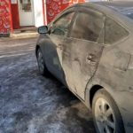 Toyota Prius в 20м кузове разрядился аккумулятор