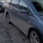 Toyota Wish аварийное вскрытие авто