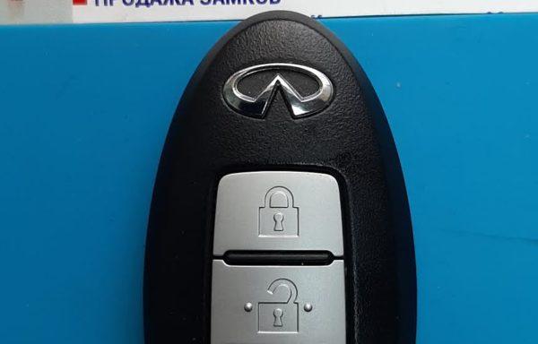 Ключ для Infiniti QX70 и FX 2008-2019, QX50 и EX 2008-2018