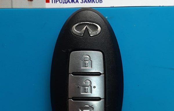 Ключ для Infiniti G37 Coupe 2007-2008 , G35 G37 G25 Sedan 2006-2008, PCF7952