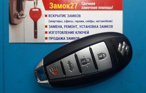 Ключ для Suzuki Swift 2010