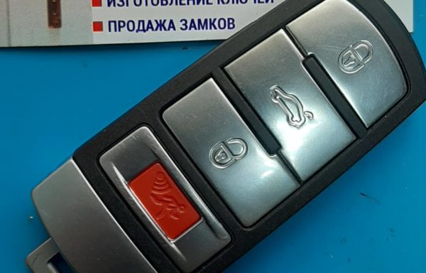 Ключ для Volkswagen Passat B6 05-11, B7 11-15, CC 08-17 Америка