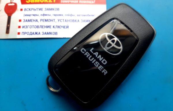 Ключ для Toyota Land Cruiser Prado 2017, 14FAK