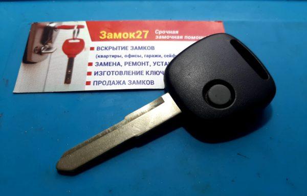 Ключ для Suzuki Wagon R 2012-, Hustler 2014-, Mazda Flair 2014