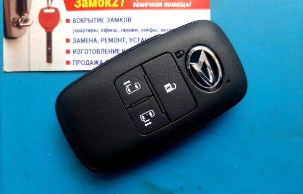 Ключ для Daihatsu Tanto (LA650S, LA660S) с 06.2019 г., с двумя сдвижными дверями