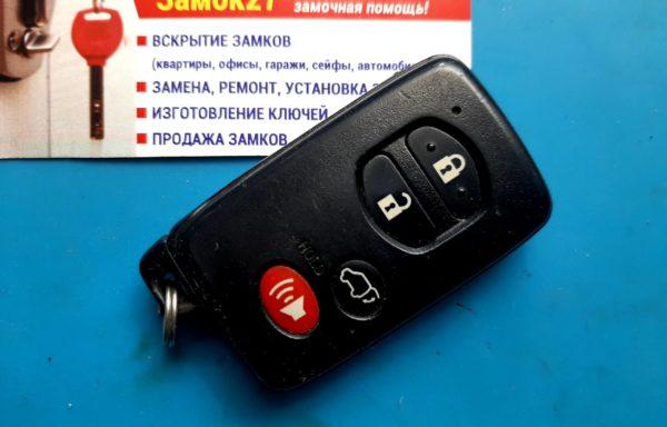 Ключ для Toyota Highlander 2007-2010, HYQ14AAB