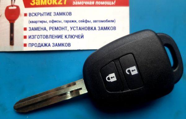 Ключ для TOYOTA RAV4 2012-2015, DENSO 12BDS