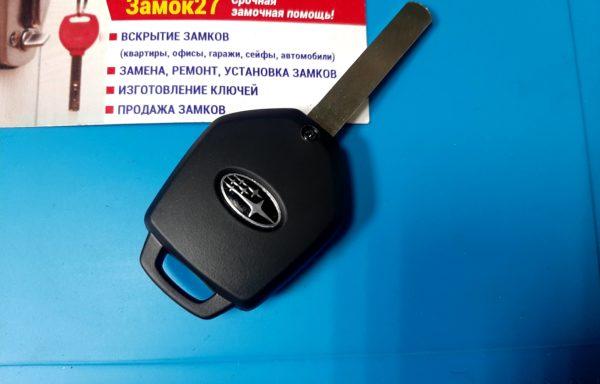 Ключ для Subaru Legacy 2011-, Forester 2007-, Impreza 2007-, Legacy B4 2006-,Outback 2009-, TF001
