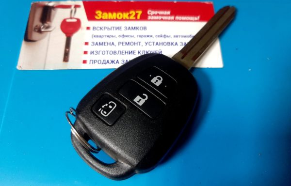 Ключ для Toyota Ключ для Toyota Land Cruiser Prado с 2017 года