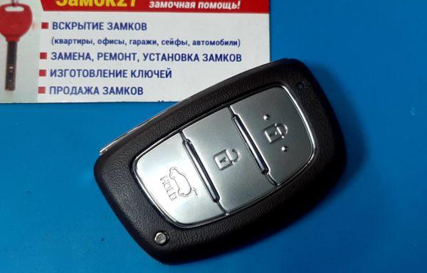 Ключ для Hyundai Creta 2016-, Texas DST AES